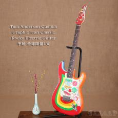 Tom Anderson Custom Graphic Icon Classic Rocky Electric Guitar 全球限量1支